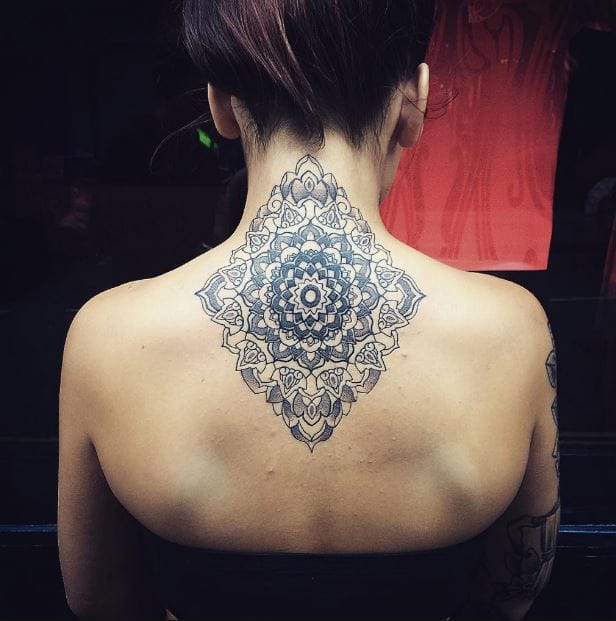 Back Neck Tattoos