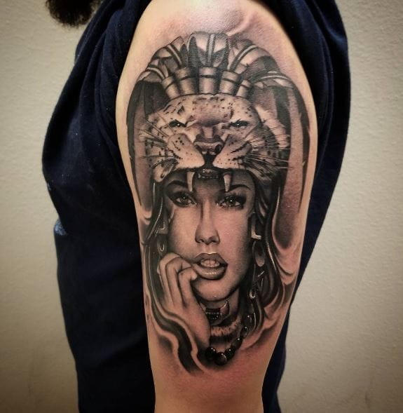 50 Best Aztec Tattoos For Girls 2020 Symbols With Meanings