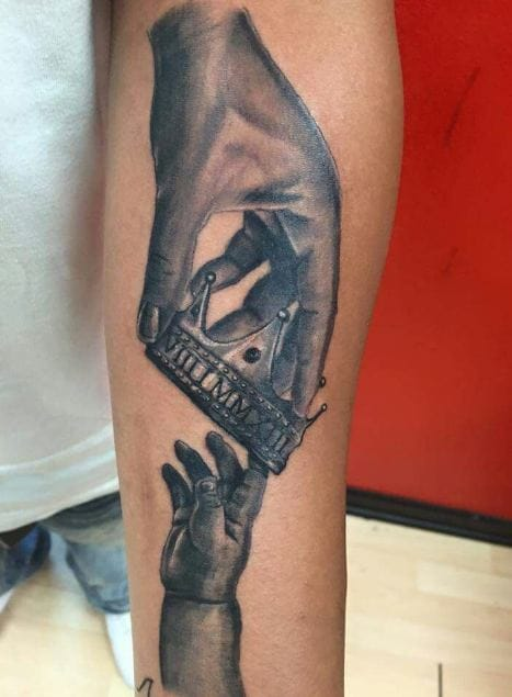 150 Cool Father Son Tattoos Ideas 2020 Symbols Quotes Baby Designs For Dads