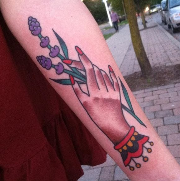 3d Lavender Tattoos
