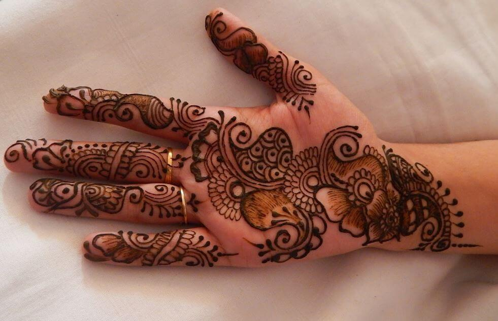 100 Latest Mehndi Designs For Hands Simple Easy 2020
