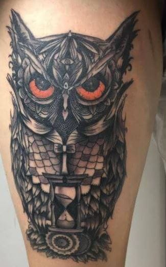110 Cute Owl Tattoos For Men 2020 Mystic Designs Ideas