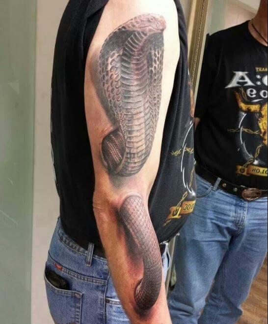 3d Snake Tattoo