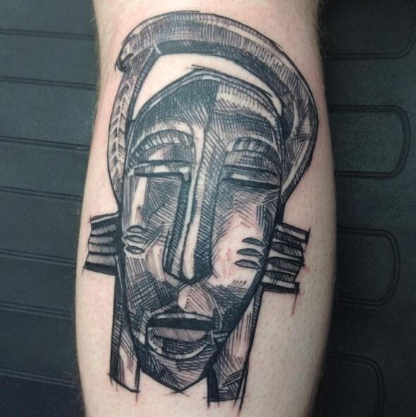 African Gods Tattoos Design And Ideas