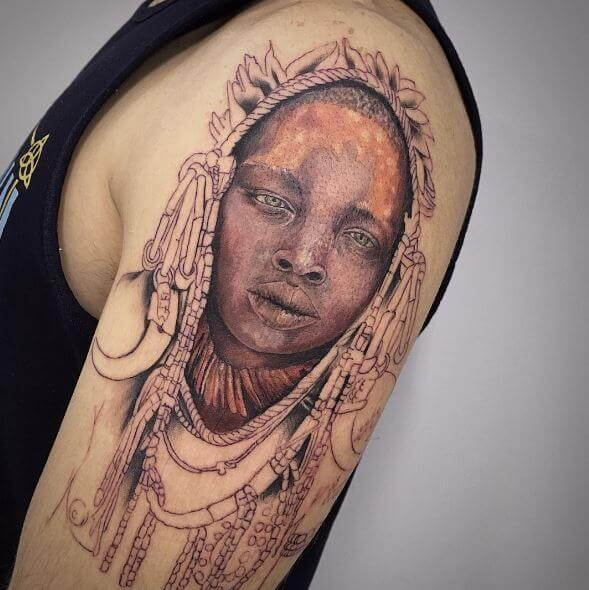 African Tattoos Images