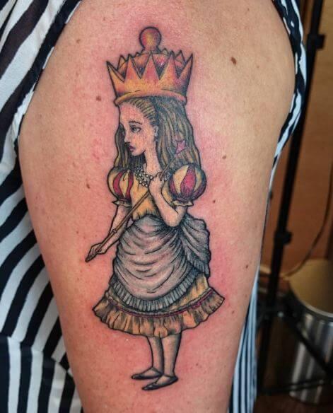 Alice In Wonderland Queen Of HeartsTattoos