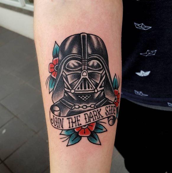 Beautiful Darth Vader Tattoos Design