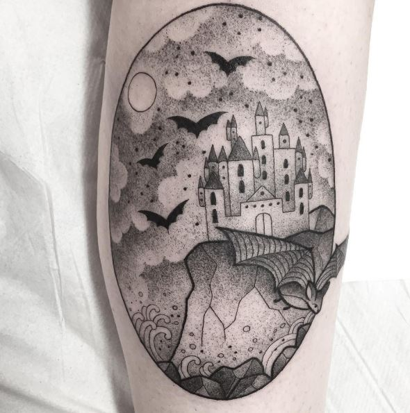 Best Landscape Tattoos Design And Ideas