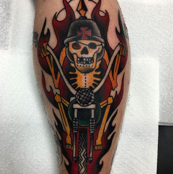 Biker Tattoo 02