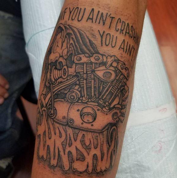Biker Tattoo 14