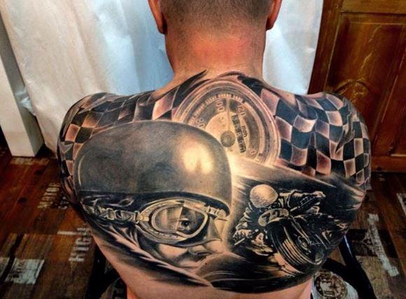 Biker Tattoo 19