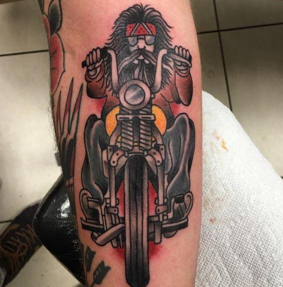 Biker Tattoo 22