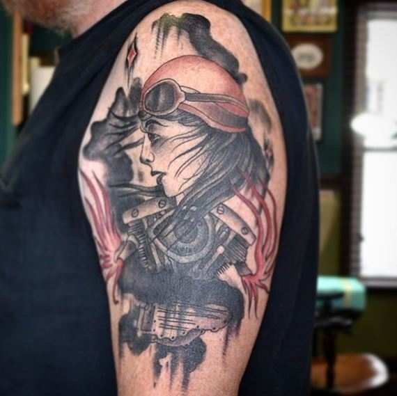 Biker Tattoo 28
