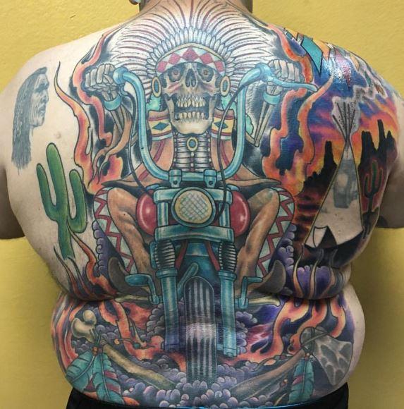 Biker Tattoo 29