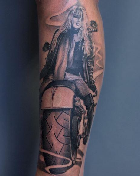 Biker Tattoo 34