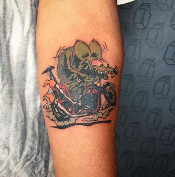 Biker Tattoo 4