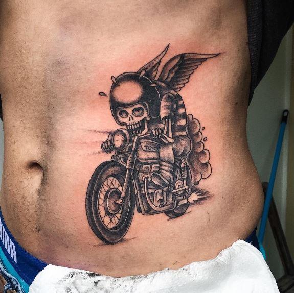 Biker Tattoo 46