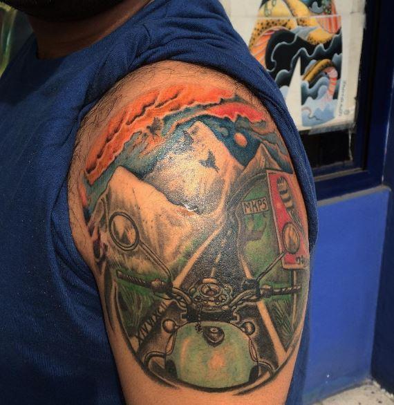 Biker Tattoo 5