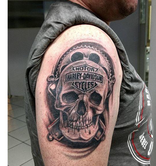 Biker Tattoo 6