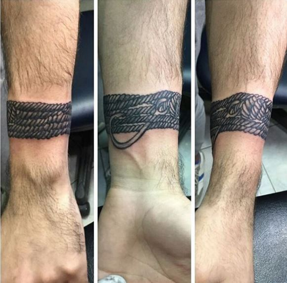 Bracelet Tattoo Designs For Guys