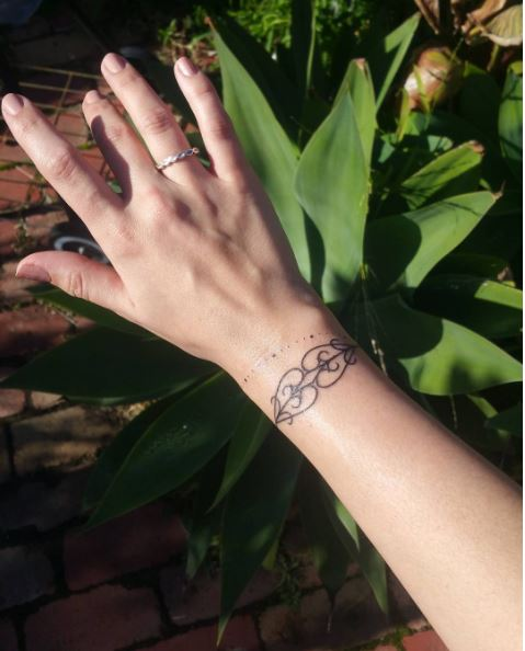 Bracelet Wrist Tattoos Design And Ideas