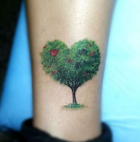 Calf Tattoo 16