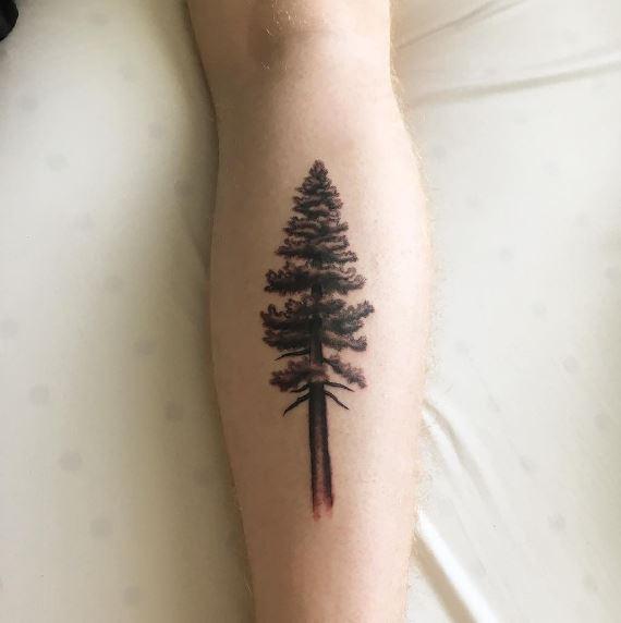 Calf Tattoo 23