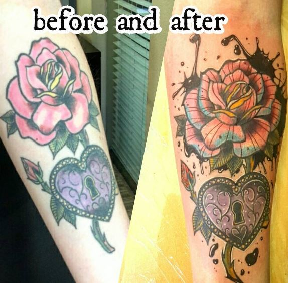 Cover Up Tattoo 12