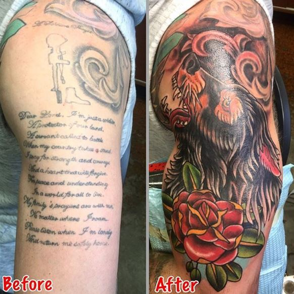Cover Up Tattoo 20