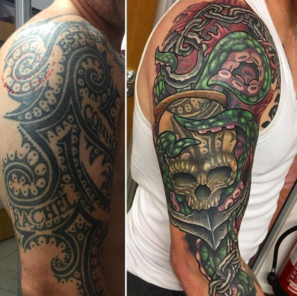 Cover Up Tattoo 29
