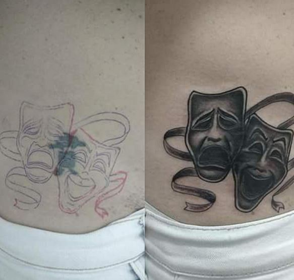 Cover Up Tattoo 3