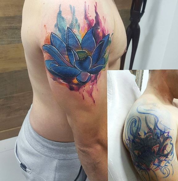 Cover Up Tattoo 30