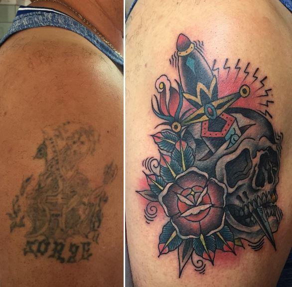 Cover Up Tattoo 35