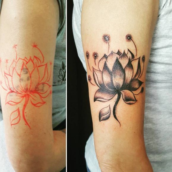 Cover Up Tattoo 37