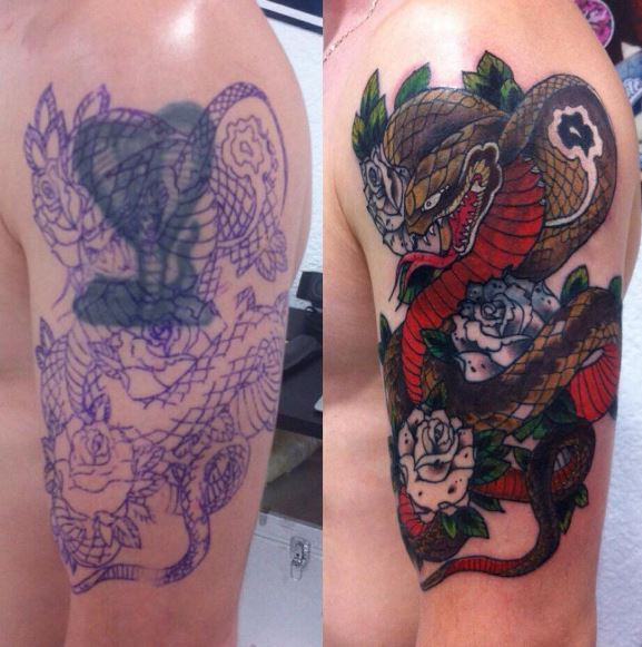 Cover Up Tattoo 41