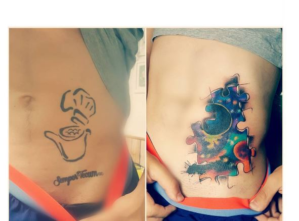 Cover Up Tattoo 49