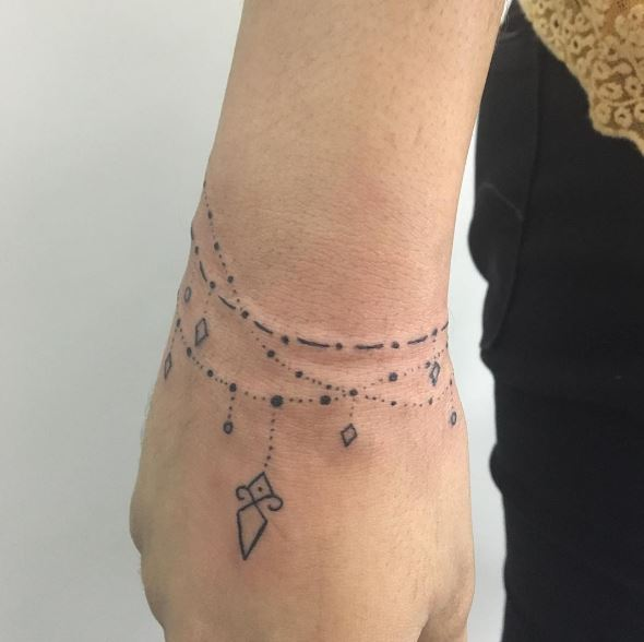 Fabulous Bracelet Tattoos Design And Ideas