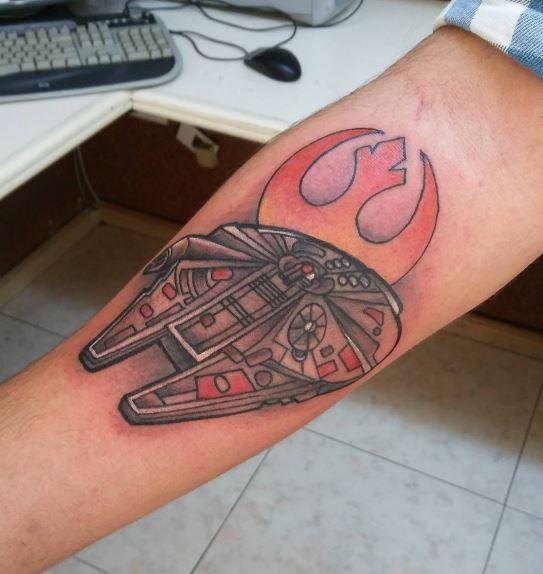 Fabulous Star Wars Tattoos Design