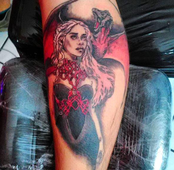 Game Of Thrones Dragon Tattoos Ideas