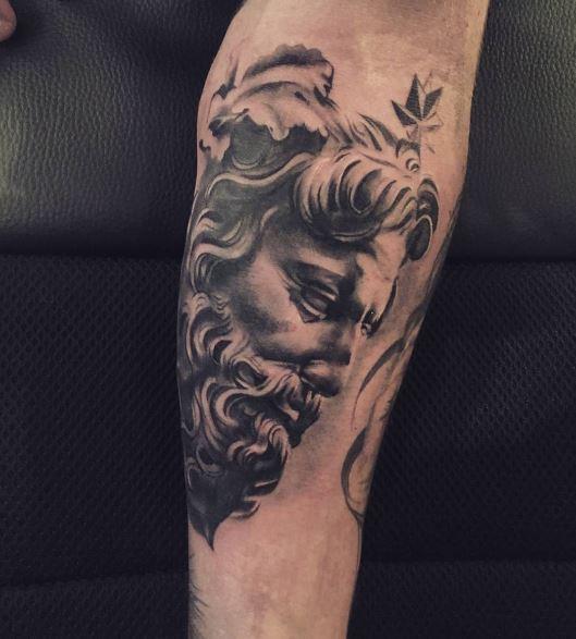 Greek Tatto On Arm 8