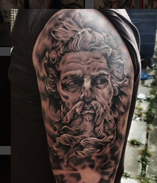 Greek Tattoo On Arm 1