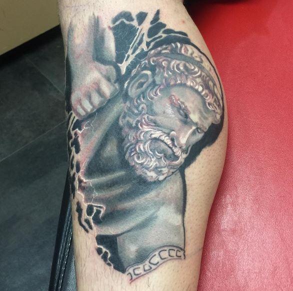 Greek Tattoo On Arm 12