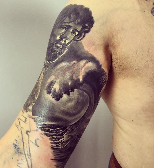 Greek Tattoo On Arm 13