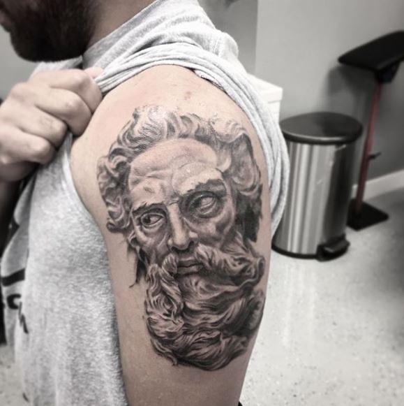 Greek Tattoo On Arm 15