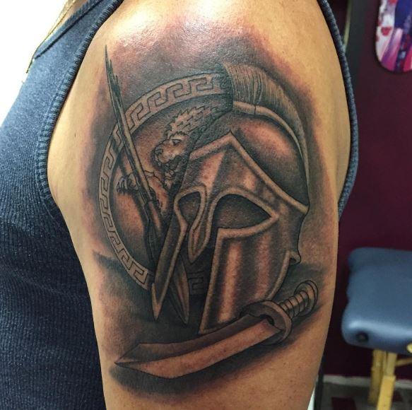 Greek Tattoo On Arm 16