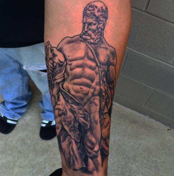 Greek Tattoo On Arm 19