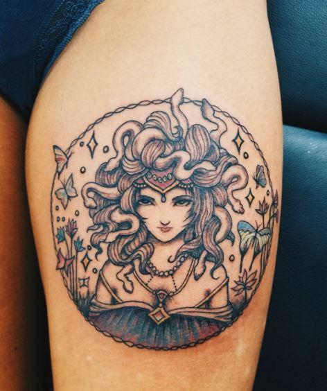 Greek Tattoo On Arm 2