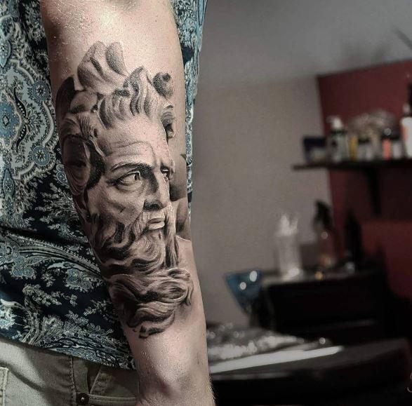 Greek Tattoo On Arm 23