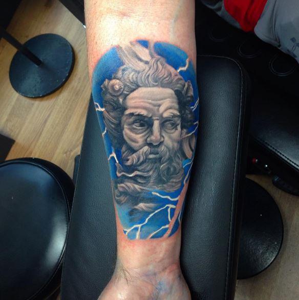 Greek Tattoo On Arm 24