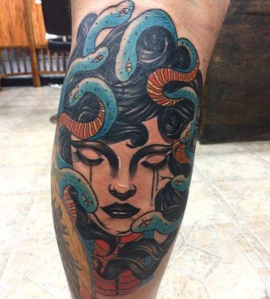 Greek Tattoo On Arm 25
